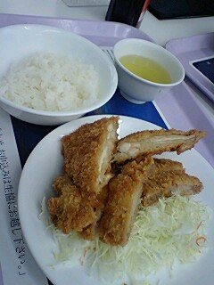 理工学食のコンビカツ@西早稲田